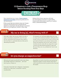 Checklist Cover Small