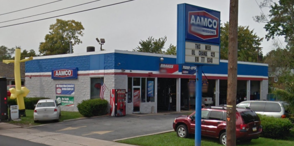 AAMCO Auto Repair & Transmission Shop View From Street