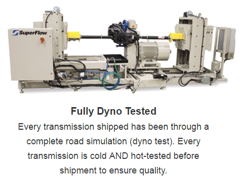Fully Dyno Tested