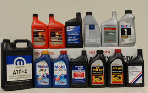 Types of Automatic Transmission Fluids