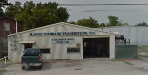 McAfee Standard Transmission