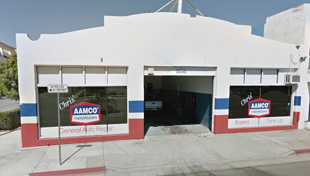 AAMCO Riverside Outside Shop