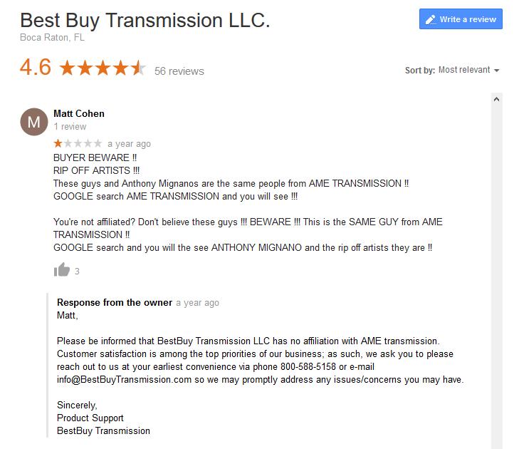 Best Buy Transmission >> Best Buy Transmission Reviews Transmission Supplier Profile